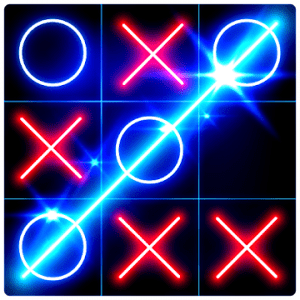 Tic Tac Toe Glow get the latest version apk review